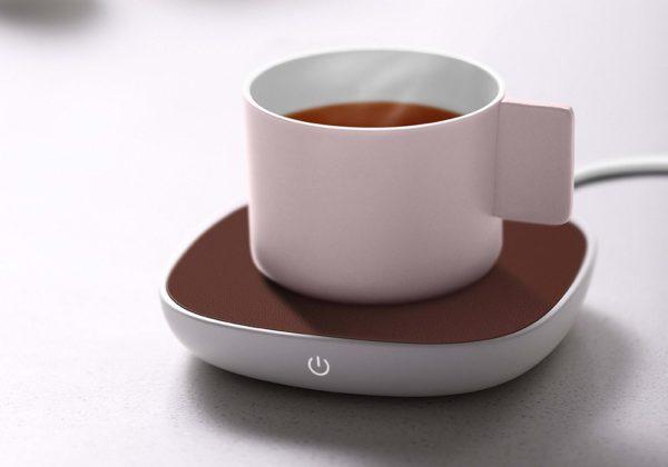 Sanjie Base Heating Coaster B1 — подставка для подогрева чашек от Xiaomi